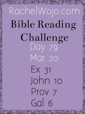 Bible Challenge Day 79 #bibleinayear