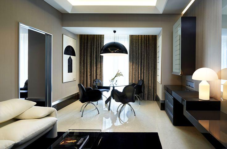 Hotel Gallia torna a splendere con l'impianto elettrico della serie Idea di Vimar. Suite design.
