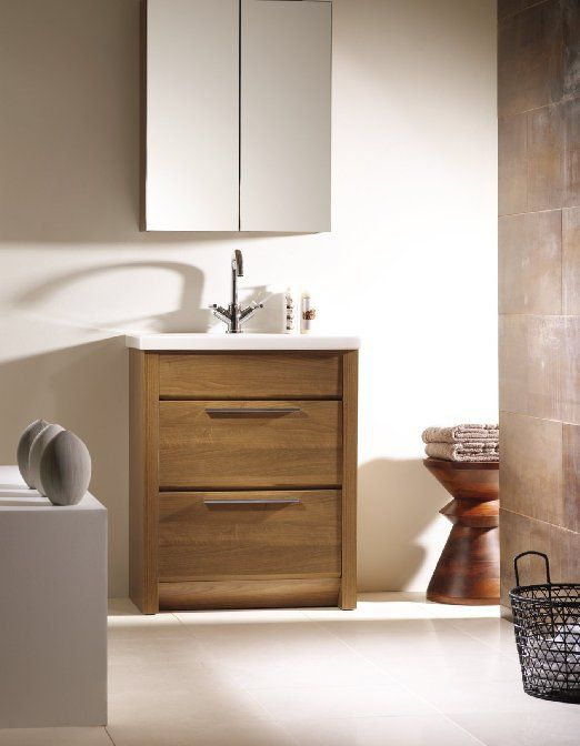 Combination Vanity Units For Small Bathrooms: Kato 24-inch Small Bathroom Vanity Cabinet For Narrow