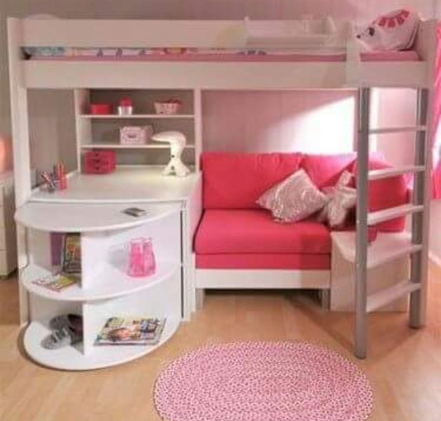Pin By Izzi Gordon On My Room Girl Room Bunk Bed With