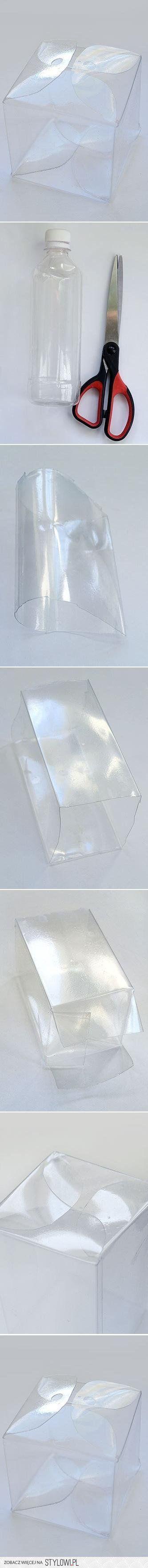 Caja de botella plástica