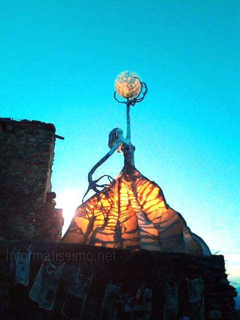 Cartapesta, stoffa, ferro e paglia putignanese al festival della paesologia di Aliano