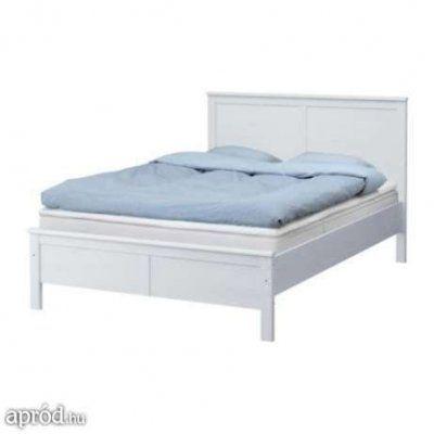 svédBÚTOR - Ikea Aspelund franciaágy matraccal együtt eladó.