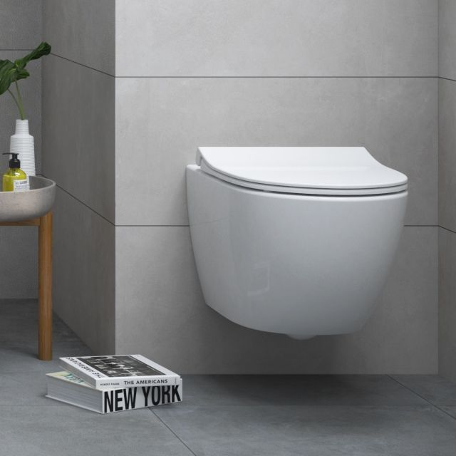 Vitra Sento Rimless Compact Wall Hung Toilet Wall Hung Toilet Bathroom Design Inspiration Toilets For Sale