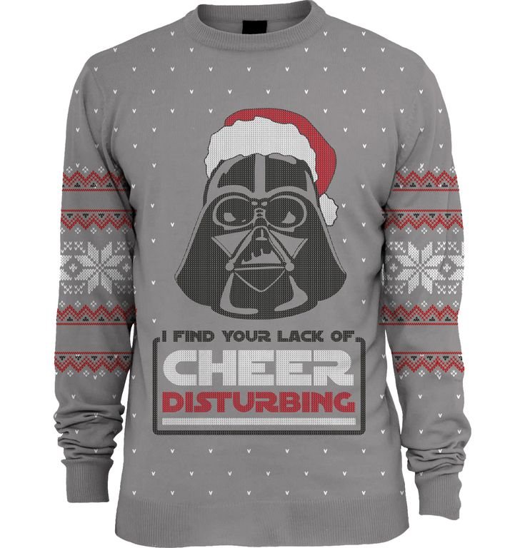 Preorder due to be shipped 15th October 2015 Officially-licensed Star Wars merchandise Features Darth Vader and other Empire-approved festive symbols Darth Vader finds your lack of Christmas cheer disturbing Knitted sweater will look good at any Christmas party Warm and comfy sweater will make your holidays happy A lot of people think Darth Vader is …