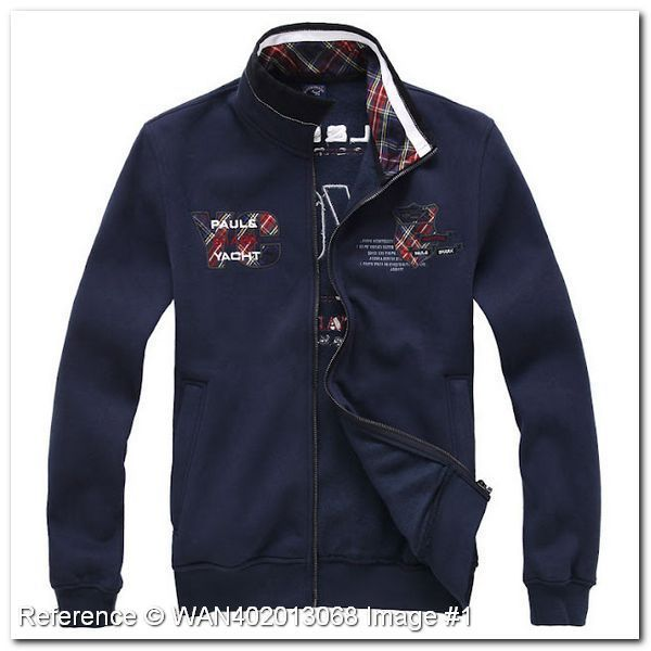 Paul Shark Jacket. Yacht Model. Dark Blue Color. HT268HH. Paul Shark Men's Jackets & Coats - Paul Shark Jackets & Coats - trendy.to