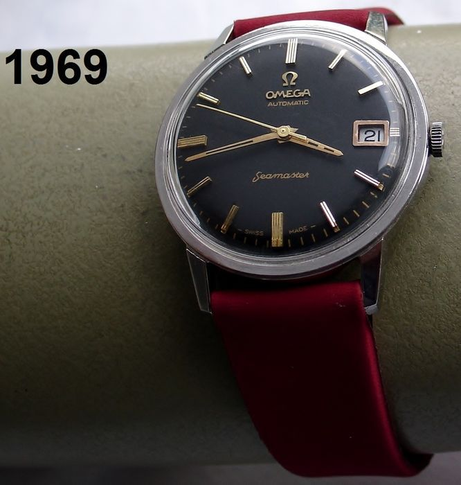 Omega – Seamaster – men's watch – 1969 + warranty!
