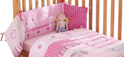 Clair de Lune My Dolly Cot/ Cot Bed Quilt and Bumper Set (2 Pieces)