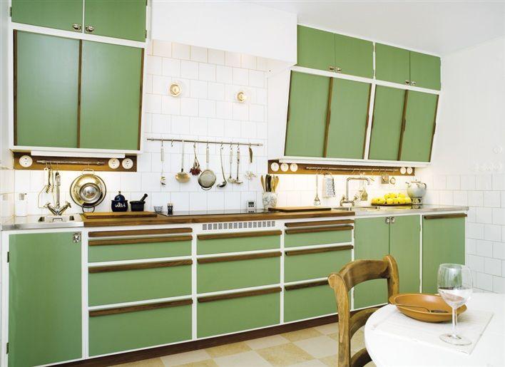 Larssons Blogg: Nybyggt kök i gammal stil - så snyggt