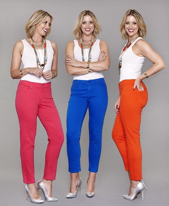 NYDJ coloured jeans