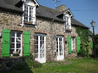 300 year old traditional stone house Holiday Rental in La Gouesniere from @HomeAwayUK #holiday #rental #travel #homeaway