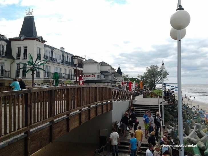 mielno poland | Promenade - Mielno pictures, photo gallery, photos and images. Poland ...