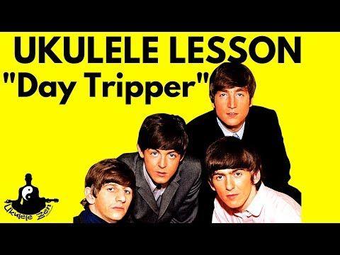 beatles uke lesson day tripper free songsheet tab youtube ukulele chords electric. Black Bedroom Furniture Sets. Home Design Ideas