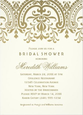 43 best images about Bridal Shower Invitations on Pinterest