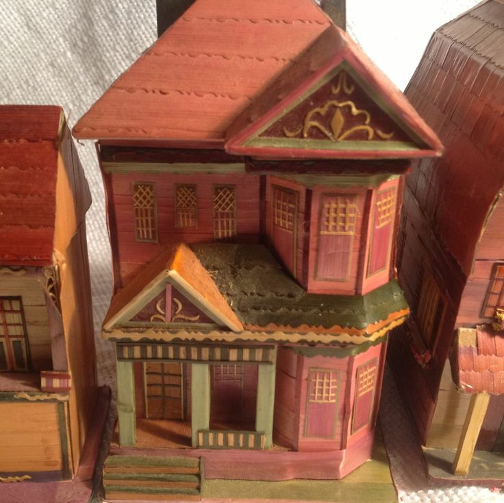 Simple Wooden Dollhouse