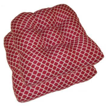Ogee Lattice Indoor Outdoor Chair Cushions