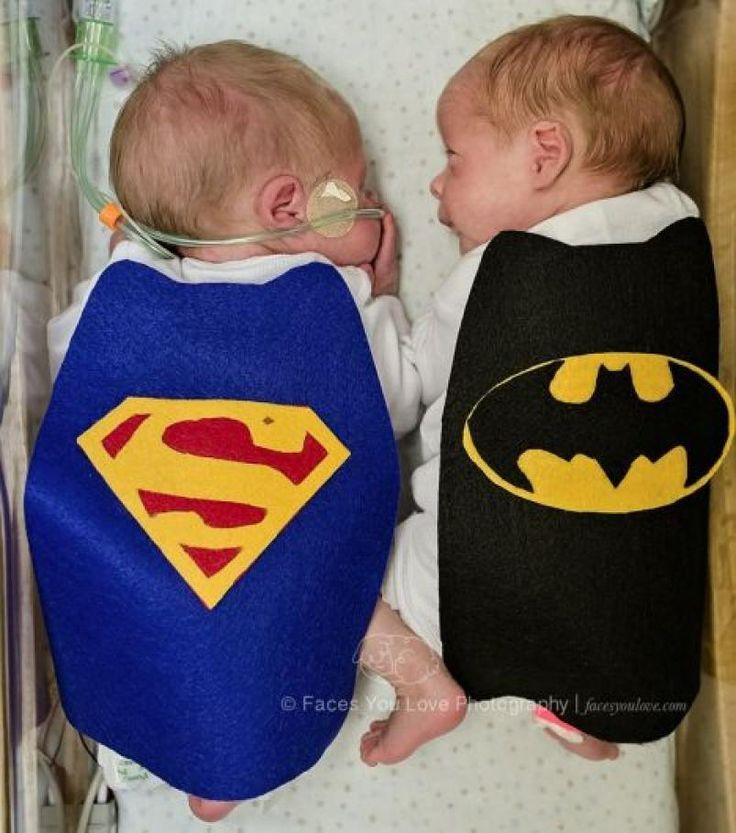 Pequeños súperhéroes: un hospital disfrazó a bebés prematuros   ElDoce.tv
