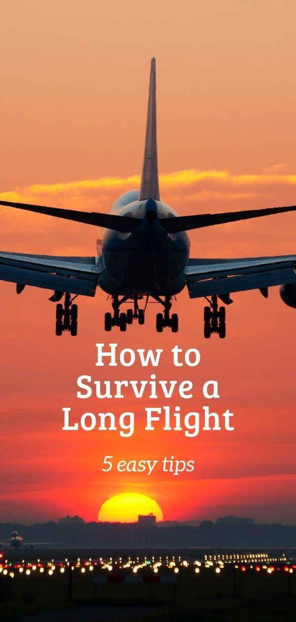 How To Survive A LONG FLIGHT 🛫🛫🛫🛫