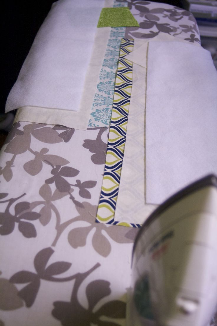 Measure and cut your fabrics