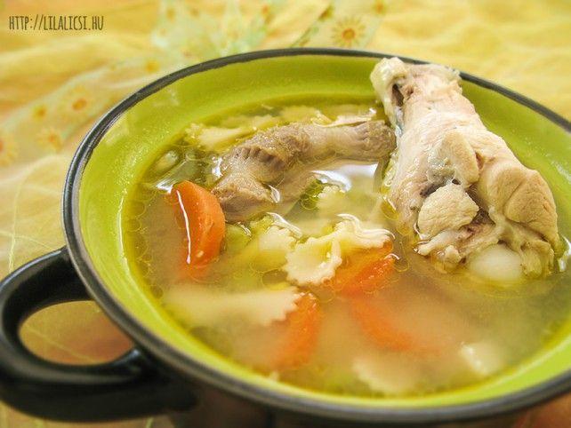 Csirkebecsinált leves Recept képpel - Mindmegette.hu - Receptek
