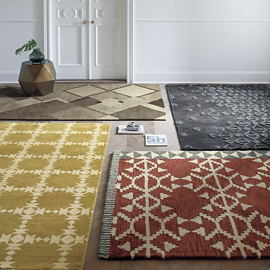 Cauble, Mischa, Doba And Spindle Rugs | Crate And Barrel