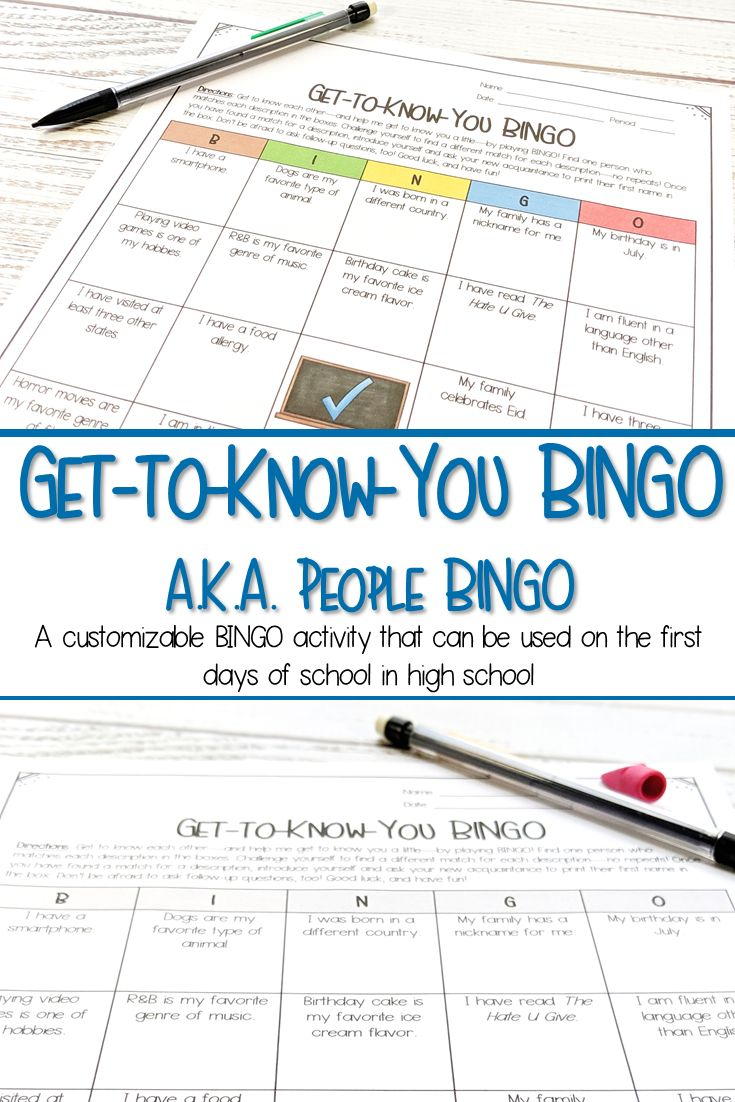 33+ Get to know you games for kids information