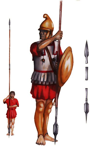Pezhetairos (period of Philip and Alexander of Macedon) - 4th century BC