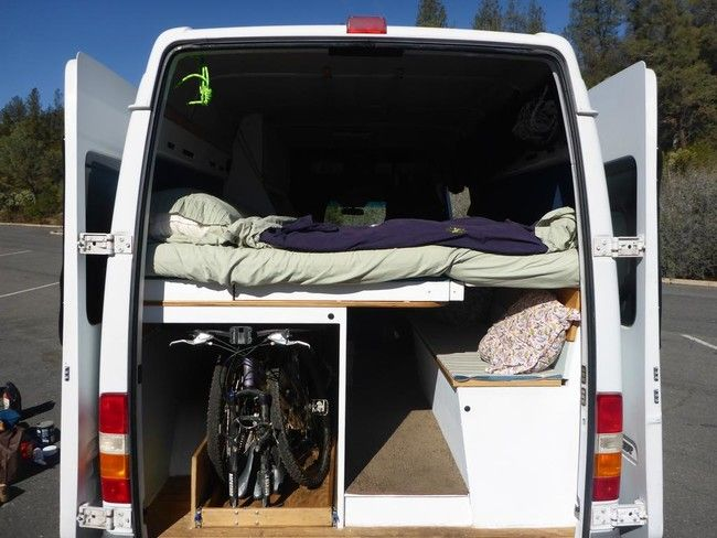 They Turned A Van And Turned It Into An Awesome Camper – Very Creative #DIY