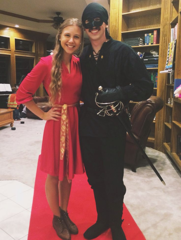 Princess Bride Couple Costume Buttercup + Westley