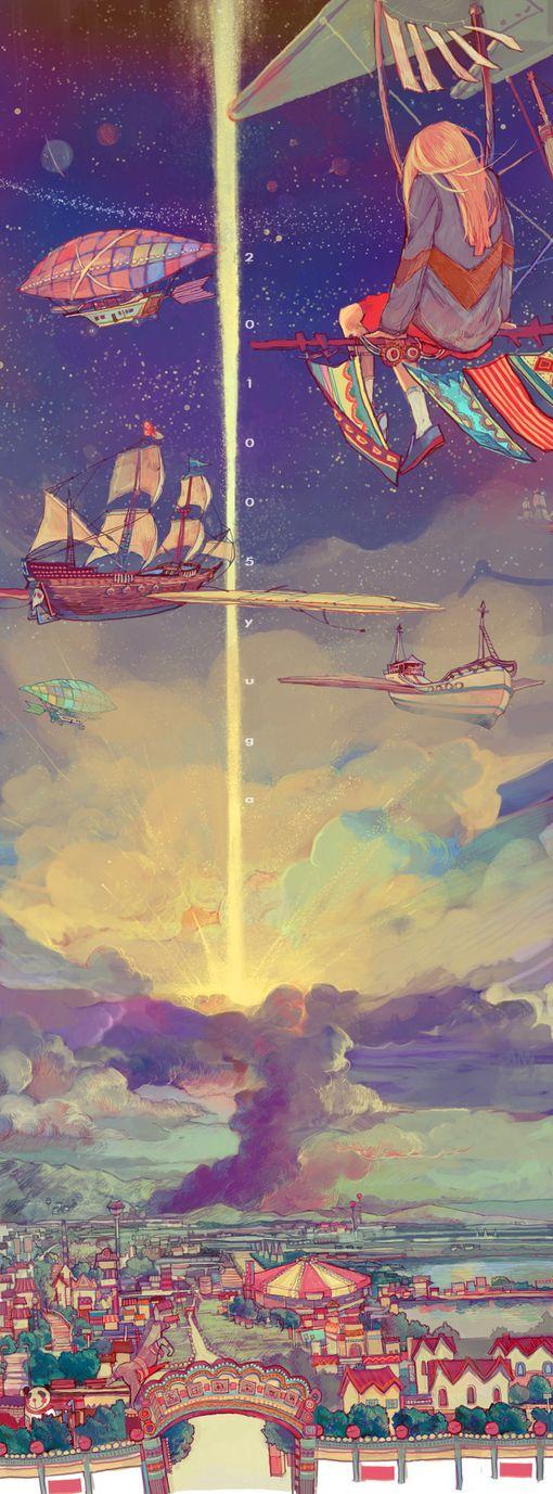 Напрягает 2010 05 yuga, а так девочки в стратосфере, летающие корабли и лучи смерти меня радуют.