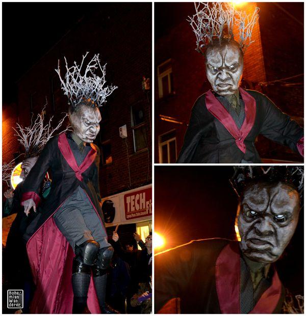 """The Summoning"": la parata Macnas al Bram Stoker Festival di Dublino #macnas #dublino #dublin #ireland #irlanda #halloween #parade"