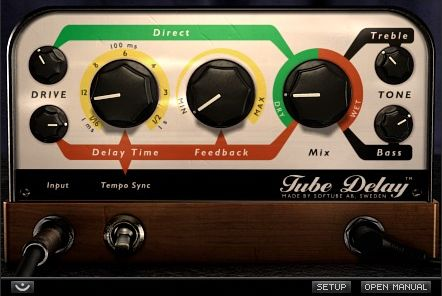 Tube Delay Tube Delay High-Res Click to zoomClick to show Tube Delay High-ResAudio Fanzine Rating (Audio Fanzine) SOFTUBE. Tube Delay is a marriage between analog and digital, combining the warmth and natural compression from tubes with the features and versatility of a digital delay.