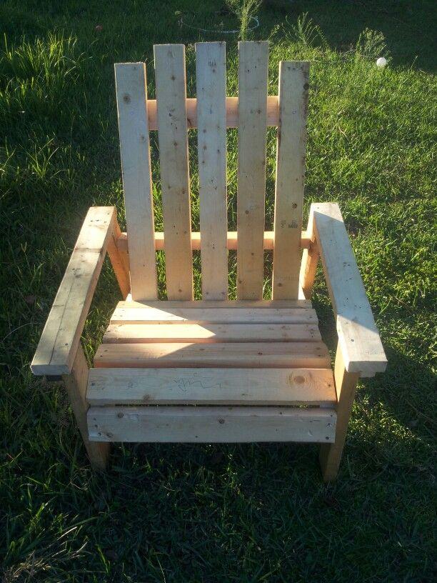 Big Man Adirondack Chair 25 5 Quot Wide 2x4 Amp 2x6 Contruction