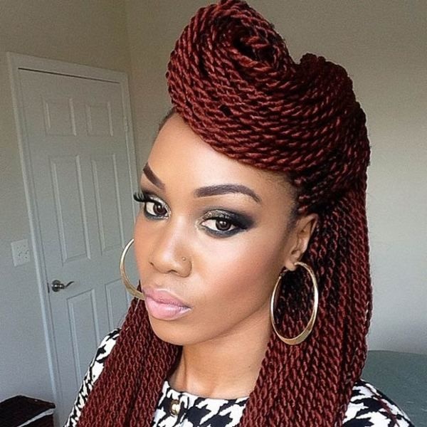 Senegalese Twist Hairstyles Inspiration 72 Best Senegalese Twists Images On Pinterest  Senegalese Twist