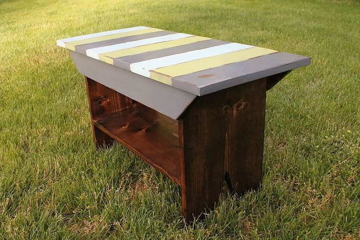 Ana White | Build a Reclaimed Wood Top Benches | Free and Easy DIY Project and Furniture Plans. #diyprojects #diyideas #diyinspiration #diycrafts #diy…