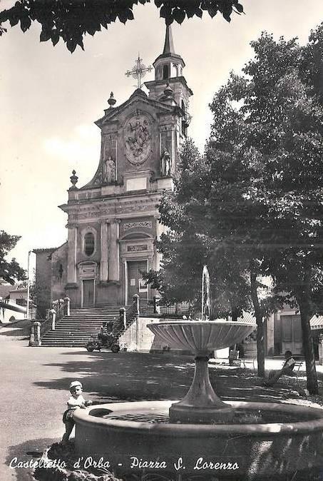 beautiful church in Castelletto d'Orba