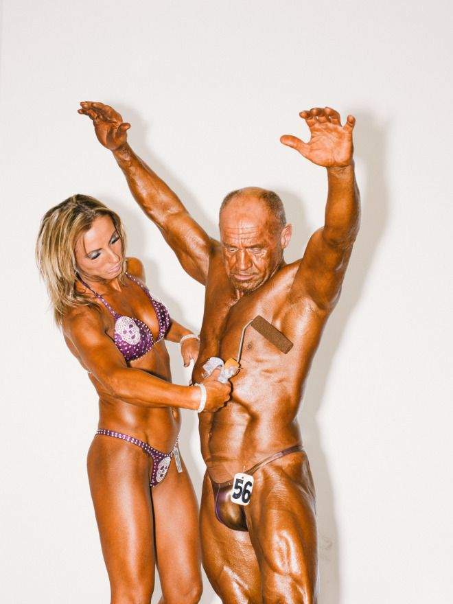 The Freakish Tans and Surprising Friendships of Pro Bodybuilding