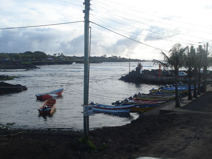 Caleta Hanga Roa, Rapa Nui (2014)