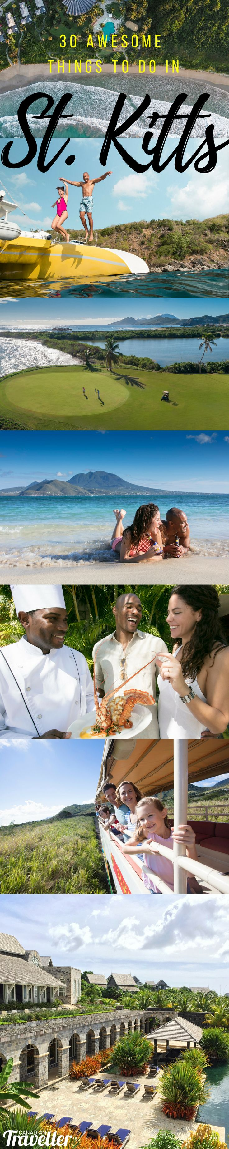 30 Awesome Things You Need to do in St. Kitts via Canadian Traveller Magazine.   #see #do #plan #highlights #St.Kitts #StKitts #things #eat #drink #outdoors #active #holiday #vacation