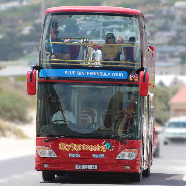 City Sightseeing bus in Cape Town