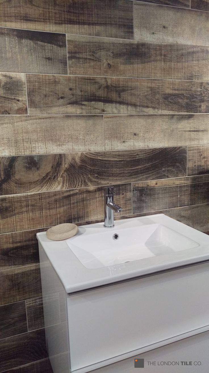 Wow - the new Burnt Oak wood effect tiles look amazing on ...