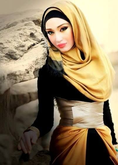 dorado. hijabi fashion. hijab.