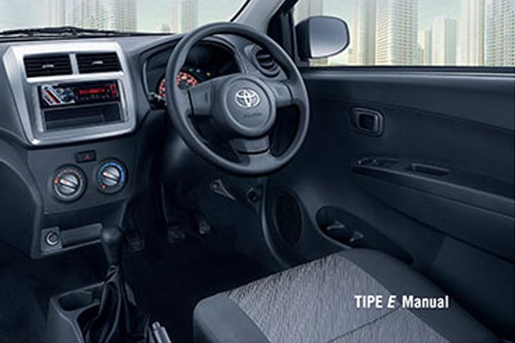 Agya Tipe E Auto2000 - Interior E Manual
