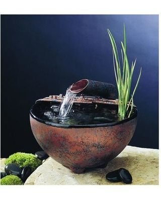 Indoor Water Feature From This Location: Nature Bowl Tabletop Fountain