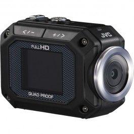 Camera video Full HD JVC GC-XA1, 5x, 1.5 inch, negru