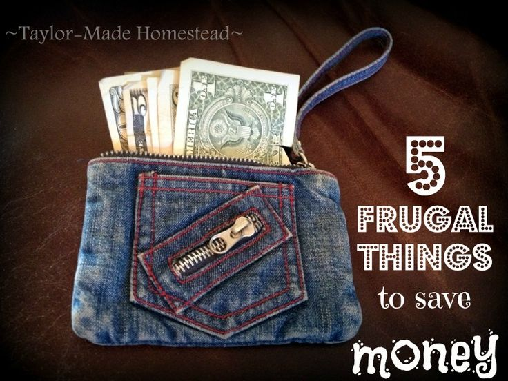 Come see 5 Frugal Things (and even MORE) that we did at the Taylor Household this week to save money. #TaylorMadeHomestead
