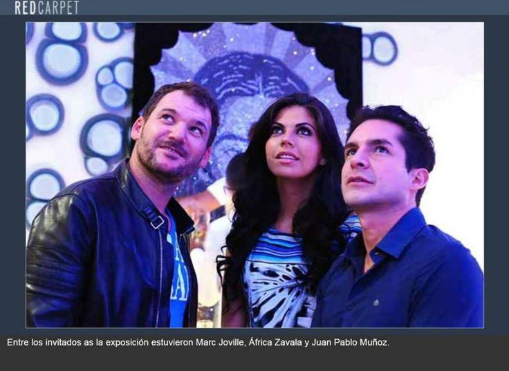 invitados a la exposición #Shine en México
