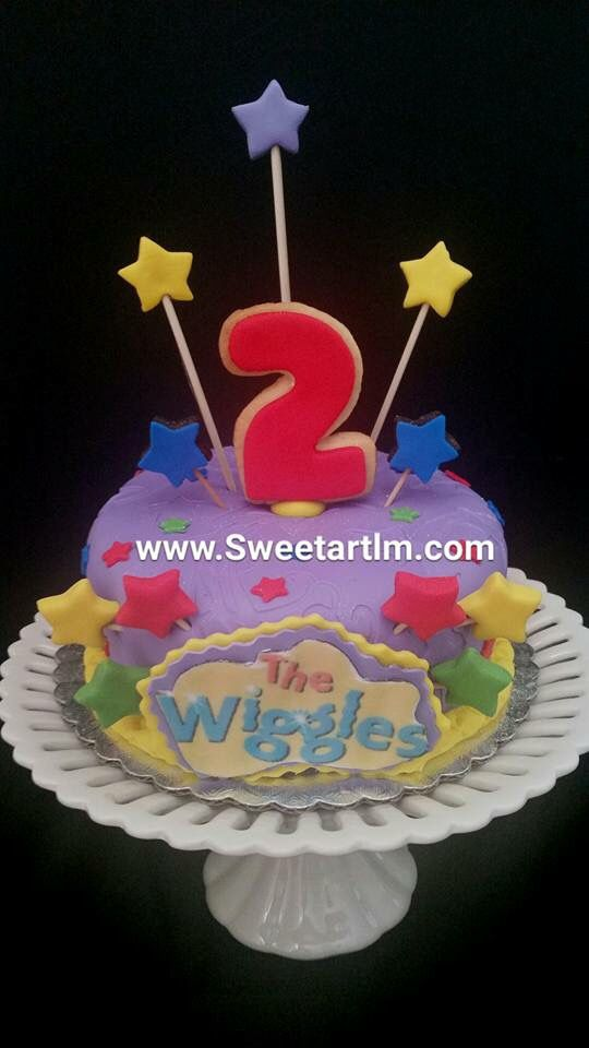 "The wiggles 5"" Cake"