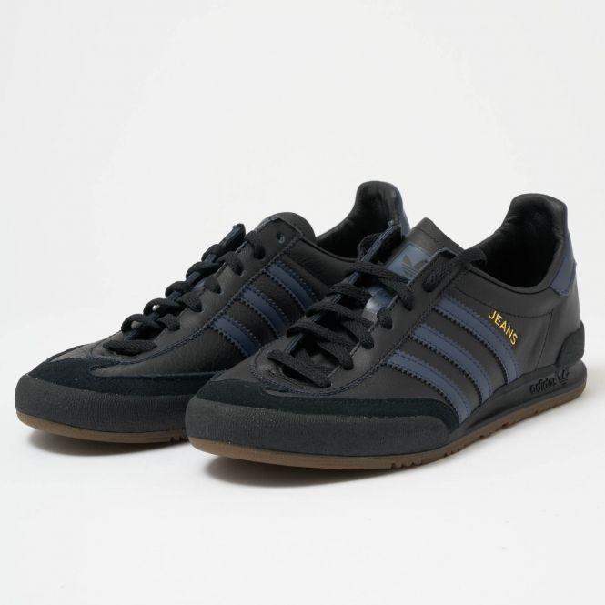 Schuhe adidas Jeans B42228 CblackTrabluGum5 Sneakers