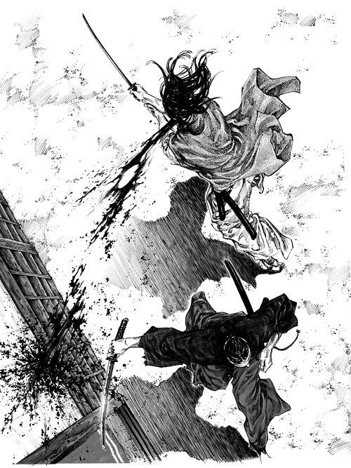 Samurai http://www.metacafe.com/watch/yt-J47R7m8gFkI//